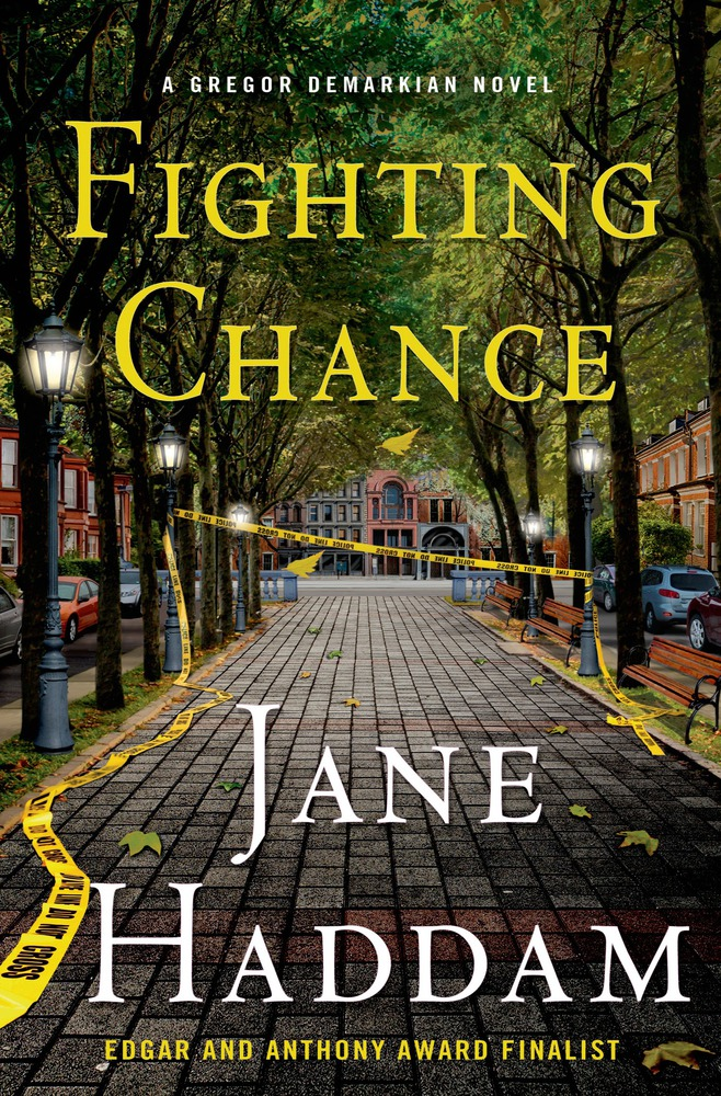 Cover for 'Fighting Chance'